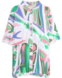 Emilio Pucci Printed Cover Up - Lyst