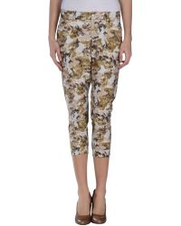 Paolo Pecora 3/4-Length Trousers - Lyst