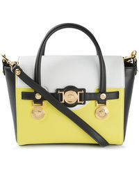 Versace Small Signature Tote - Lyst