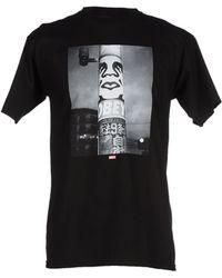 Obey | black T-shirt | Lyst