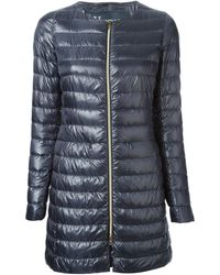 Herno Quilted Long Jacket - Lyst
