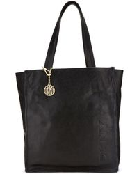 DKNY Soft Leather Tote - Lyst