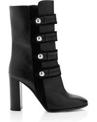 Isabel Marant   Black Calf Leather Arnie Brandenburg Boots   Lyst