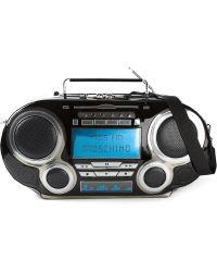 Moschino Radio Weekender Tote - Lyst