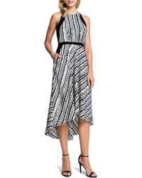 Cynthia Steffe Raelyn Sleeveless Printed High-low Dress - Lyst