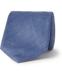 Berluti - Seven-Fold Jacquard Tie - Lyst