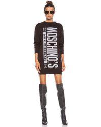 Moschino Fantasy Print Sweater - Lyst