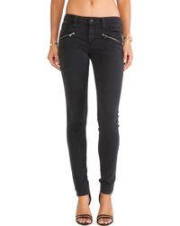 Joe's Jeans Inline Zip Skinny - Lyst