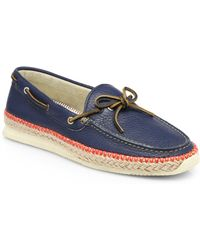 Paul Smith Cheviot Espadrille Boat Shoes - Lyst