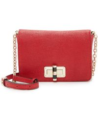 Diane von Furstenberg | 440 Gallery Bellini Cross Body Bag - Lacquer Red | Lyst