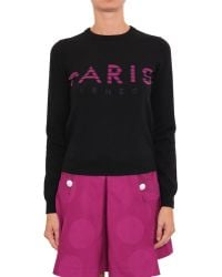 Kenzo Cotton Pull With Lettering Embroidery - Lyst