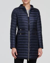 Moncler Coat - Aubry Mid-length Packable Down - Lyst