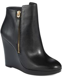 Michael by Michael Kors Clara Booties - Lyst