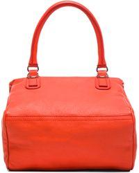 Givenchy Orange Small Pandora - Lyst