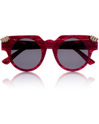 House Of Holland Fister V2 Red Marble - Lyst