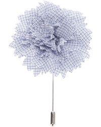 Lanvin - Buttonhole Flower Pin - Lyst