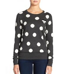 French Connection Polka Dot Mouse Sweater - Lyst