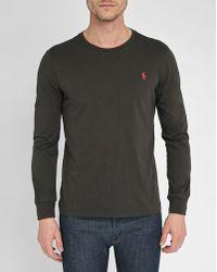 Polo Ralph Lauren   Black Pr Custom-fit Long-sleeve T-shirt   Lyst