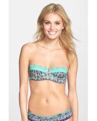 Maaji Pineapple Stakes Bandeau Bikini Top - Lyst