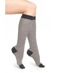 Pantherella | Herringbone Knee High Socks | Lyst