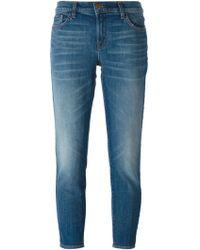 J Brand 'Ellis' Cropped Jeans - Lyst