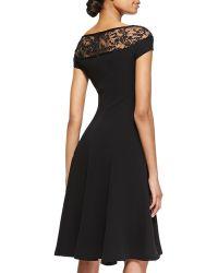 Ralph Lauren Collection Erica Full Beadedtop Dress - Lyst