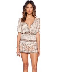 Spell & The Gypsy Collective - Desert Rose Playsuit - Lyst