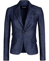 DSquared² Denim Outerwear blue - Lyst
