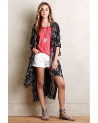 Subtle Luxury - Sahara Kimono - Lyst