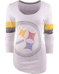 Nike Womens Long-sleeve Pittsburgh Steelers T-shirt - Lyst
