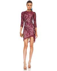 Lover Mia Asymmetric Dress - Lyst