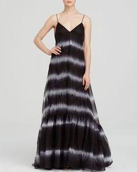 Diane von Furstenberg Maxi Dress - Brianna Tie Dye - Lyst