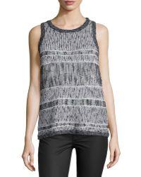Townsen - Kallie Round-neck Sweater Tank - Lyst