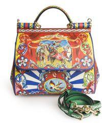 Dolce & Gabbana | Teatro Dei Pupi Sicily Bag | Lyst