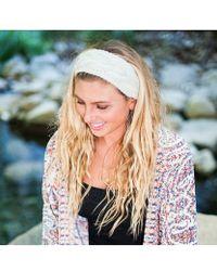 Elizabeth Koh - Oatmeal Knit Headband - Lyst