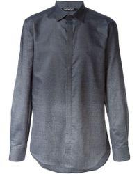 Neil Barrett Gradient Effect Shirt - Lyst