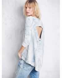 Free People Womens Cloudy Wash Pullover - Lyst