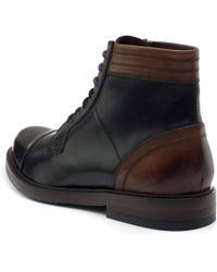 Ted Baker - Musken Leather Ankle Boots - Lyst