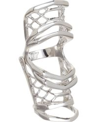 Dominic Jones - White Gold Leviathan Ring - Lyst
