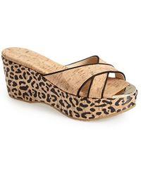 Jimmy Choo Women'S 'Prima' Platform Sandal - Lyst