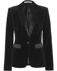 Givenchy Velvet and Satin Blazer - Lyst