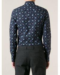 Dolce & Gabbana Floral Print Shirt - Lyst