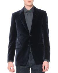 Lanvin Velvet Evening Jacket - Lyst