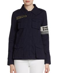 Sachin & Babi Embellished Safari Jacket - Lyst