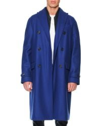 DSquared2 Orphan Double Breasted Coat - Lyst