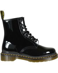 Dr. Martens Anfibio Nero in Vernice - Lyst