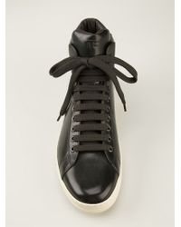 Tom Ford Russel Hitop Sneakers - Lyst