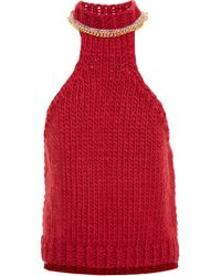 Wool And The Gang | Chain Neck Knit Top | Lyst