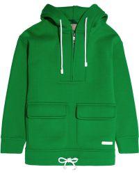 Burberry Brit - Scuba Cottonjersey Hooded Sweatshirt - Lyst