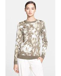 Jason Wu Intarsia Knit Sweater - Lyst